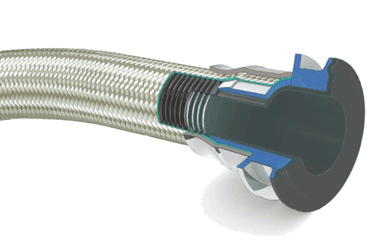 导电特氟龙金属软管