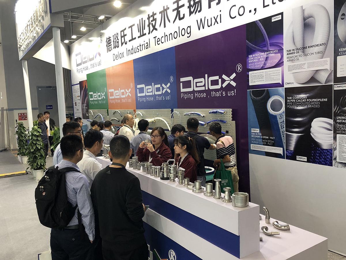 DELOX重庆药机展展台