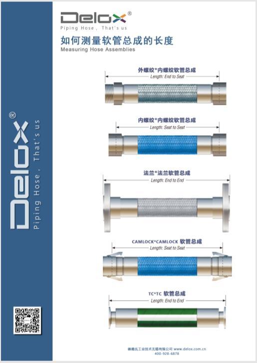 软管总成测量方式