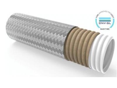 MATWV/MATWL-玻纤布PTFE波纹钢编管-DNVGL型式认可TapeWrap®