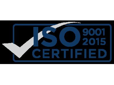 德璐氏工业通过ISO9001:2015质量体系认证